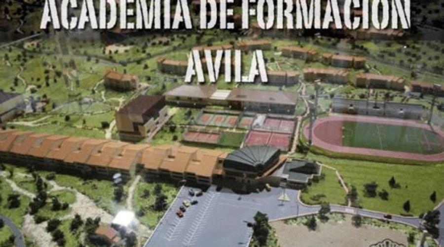 Academia de Policía Nacional en Ávila